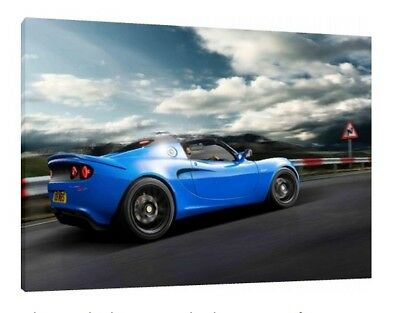 $ CDN68.29 • Buy Lotus Elise S 30x20 Inch Canvas - Framed Picture Print Wall Art
