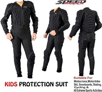 £19.99 • Buy Kids Body Armour Motorbike Motorcycle Motocross Cubs Spine Guard Protection Suit