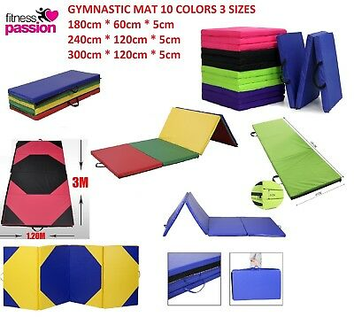 AU45.99 • Buy New Gymnastics Mat Tumbling Dance Yoga Excercise Training Home Judo Pilates