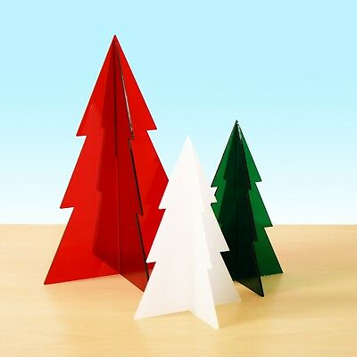 Acrylic Christmas Tree Table Decoration Retail Or Home Window Display Stand • 4.95£