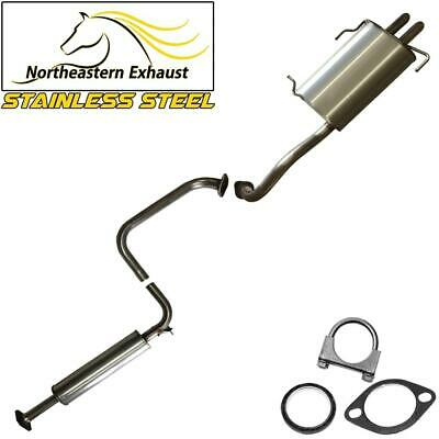 $271.45 • Buy Stainless Steel Resonator Muffler Pipe Exhaust System Fits: 99-04 I30 I35 Maxima