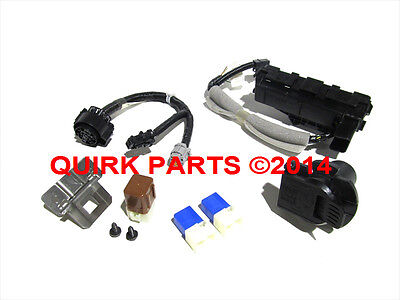 2013-2014 nissan pathfinder 7 pin trailer tow hitch receiver harness kit oem  new •