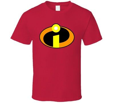 The Incredibles Logo Red T Shirt • 22.45£