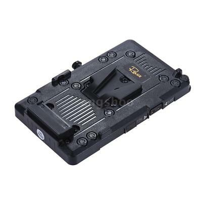 AU43.40 • Buy Rolux V-mount V-Lock Camera Battery Plate DIY Power Supply For SONY BMCC BMPCC