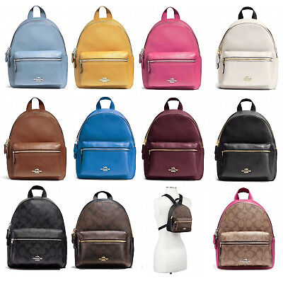 1046f25a6c53 New Coach F38263 F58315 Mini Charlie Backpack New With Tags • 119.99