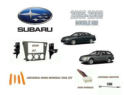 $48.99 • Buy 2005-2009 SUBARU LEGACY, OUTBACK DASH INSTALL KIT For CAR STEREO, WIRE HARNESS