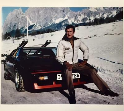 $ CDN6.25 • Buy For Your Eyes Only 007 James Bond 8x10 Movie Photo ~ Roger Moore W/ Lotus Esprit