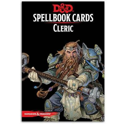 AU35.84 • Buy D&D Spellbook Cards Cleric Deck Revised 2017 Edition Board Game