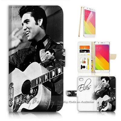 AU12.99 • Buy ( For Oppo A57 ) Wallet Case Cover P21317 Elvis Presley