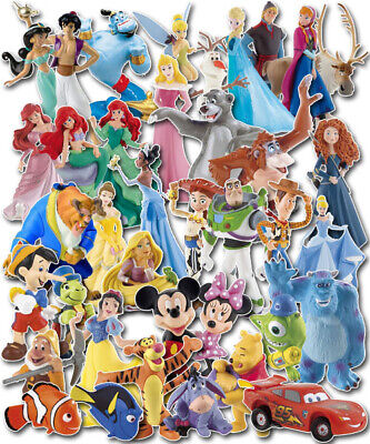 Disney Figurines Figures Cake Topper Decoration Sugarcraft Characters Bullyland • 10.50£