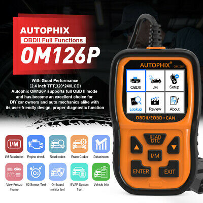 AU64.99 • Buy Automotive Car Code Reader OBD2 EOBD Scan Tool Engine Fault Diagnostic Scanner