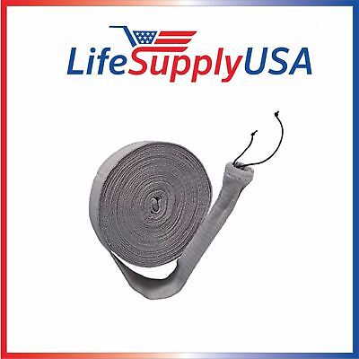$ CDN67.01 • Buy Pack Of 2 Central Vacuum Hose Sock Covers 30 Ft Knitted W Application Tube 30ft