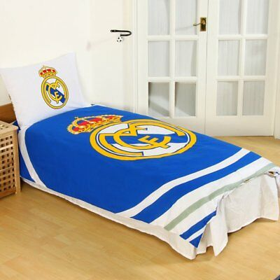 Real Madrid FC Pulse Duvet Reversible Single Quilt Cover And Pillowcase Set  • 21.79£