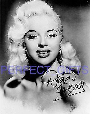 Diana Dors Yield To The Night Signed 10x8 Pp Repro Photo Print • 5.99£
