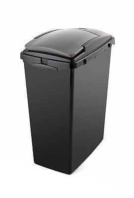 40L Slim Recycling Bin With Metallic Grey Lid • 18.50£