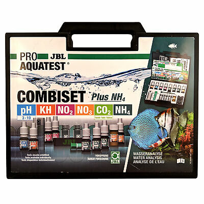 JBL CombiSet Test Kit For Freshwater Aquarium- PH, KH, CO2, NO2, NO3 + NH4, NH3 • 39.79£