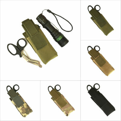 £1.89 • Buy Nylon Tactical Molle EMT Scissor Pouch Storage Bag Case Holder Military Airsoft