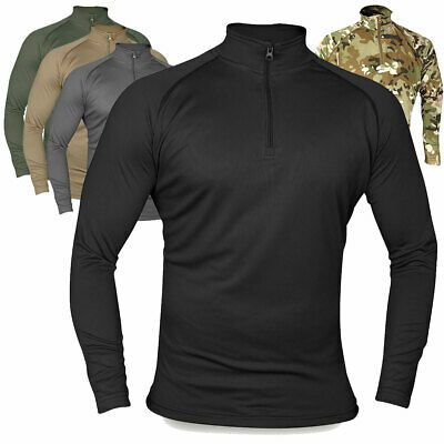 Viper Tactical Military Base Layer Armour Long Sleeve Wicking Top Under Shirt • 14.30£