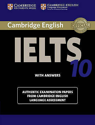 £15.99 • Buy IELTS Practice Tests Ser.: Cambridge IELTS 10 Student's Book With Answers : Auth