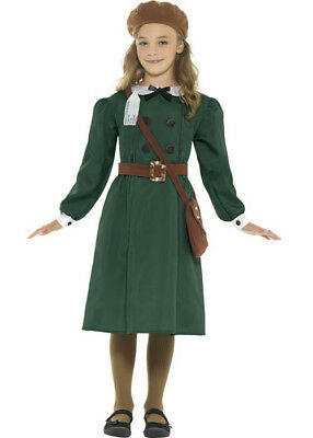 Childrens Size WW2 Evacuee Girl Costume • 19.99£