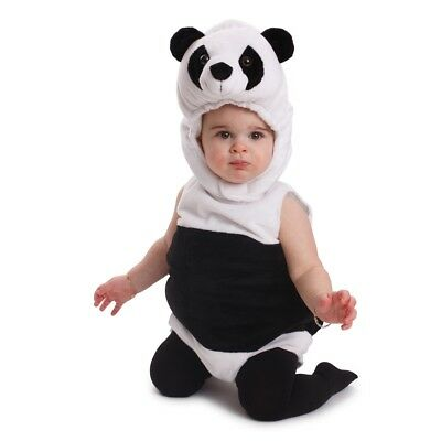 Dress Up America Cuddly Baby Panda Bear Costume Infant Outfit Halloween Costume • 21.99£