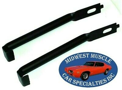 $78.20 • Buy 71-72 GTO Judge Lemans Endura Grille Bumper To Radiator Support Bracket Arms IS