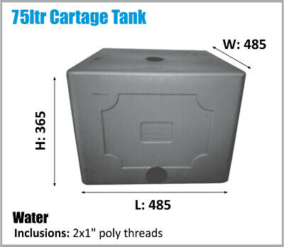 AU145 • Buy Water Tank. 75ltr. Potable Water. Ask For Freight Price. Camping Ute Stable