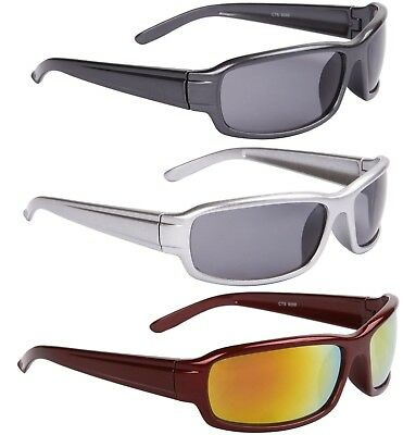 Designer Sport Wrap Sunglasses Running Cycling Golf UV400 Womens Mens Boys • 7.99£