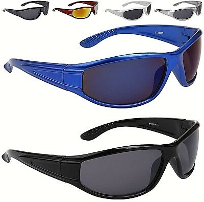 Designer Sport Wrap Sunglasses Running Cycling Golf Womens Mens Boys • 7.99£