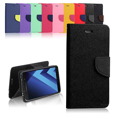 AU7.99 • Buy New Diary TPU Wallet Case Cover For Samsung Galaxy J3 Pro / J5 Pro / J7 Pro