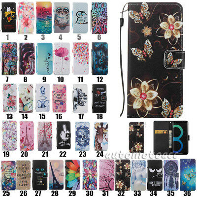 $ CDN6.17 • Buy For Samsung Galaxy S7 Edge S8 S9+ S10+ Leather Wallet Flip Card Phone Case Cover