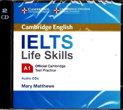 £21.22 • Buy Official Cambridge English IELTS LIFE SKILLS A1 Test Practice Audio CD's @NEW@