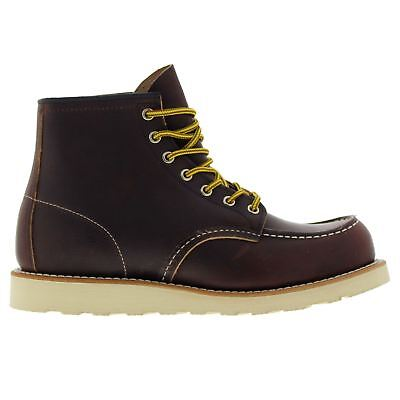 Red Wing Moc Toe 8138 Brown Mens Boots • 260.84£