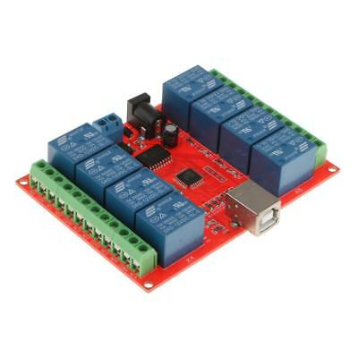 £11.70 • Buy 12V 8 Channel USB Relay Module USB Control Switch PC Intelligent Controller