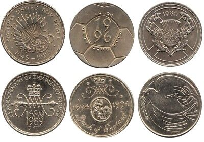 Two Pound Coins £2 1986, 1989, 1994, 1995 And  1996 - Choice Of Year • 3.99£