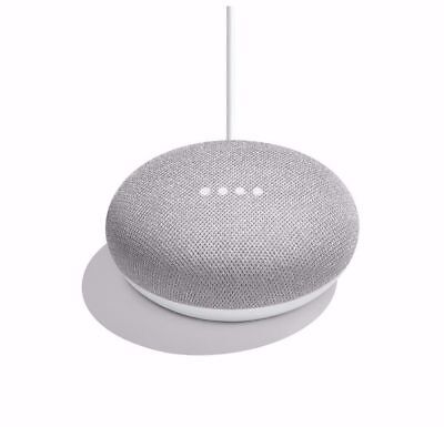 AU50.07 • Buy Google Home Mini Smart Assistant Speaker - Chalk Brand New And Sealed
