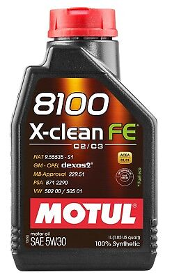 $ CDN25.46 • Buy Motul 8100 X-clean Fe 5w-30 100% Synthetic Engine Oil 1l