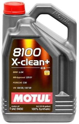$ CDN107.99 • Buy Motul 8100 X-clean+ 5w-30 100% Synthetic Engine Oil 5l