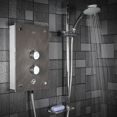 £492.50 • Buy Mira Galena Electric Shower 9.8kW Clearscale Power Slate Effect 1.1634.117