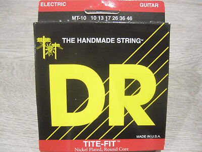 $ CDN22.50 • Buy DR MT-10 Tite-Fit Nickel Plated Round Core 10-46 Electric Guitar Strings 3 Packs
