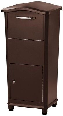 $247.49 • Buy Parcel Drop Box Cast Aluminum Post Mount Type In Oil-Rubbed Bronze With Anchors