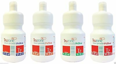 TRUZONE CREAM PEROXIDE 1000ml/250ml All Strengths (FREE 48HR TRACKED DELIVERY) • 7.95£