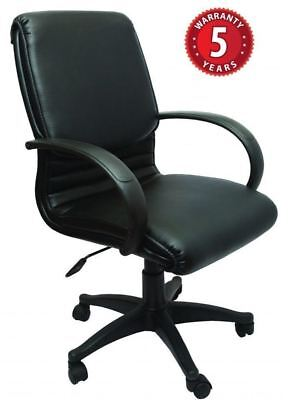 AU257.99 • Buy Rapidline CL610 Executive Chair- Medium Back Black Armrests & Base