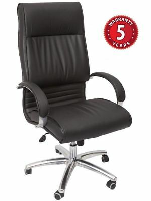 AU389.99 • Buy Rapidline CL820 Executive Chair- Extra Large High Back Chrome Armrests & Base