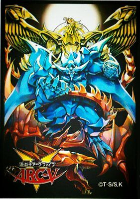 AU9.84 • Buy (50) Yugioh Sleeves Deck Protectors 50 Pieces Size 63x90mm - Egyptian God Cards