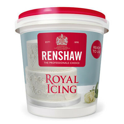 Royal Icing Ready To Use Renshaw Icing - 400g - Free Post • 5.98£