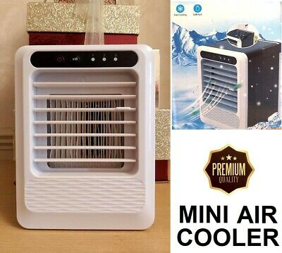 AU40.82 • Buy Air Cooler Mini Air Conditioner Portable Fan Travel Home Office Cooling Unit