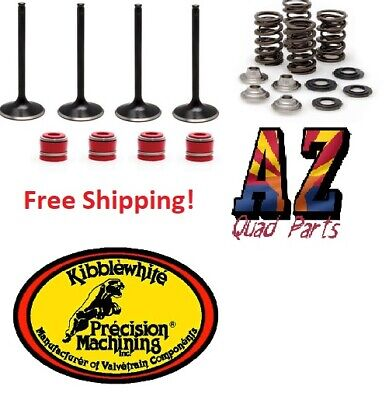 $342.11 • Buy 04-07 Honda CRF250R CRF 250R Kibblewhite Intake & Exhaust Valves Springs Seals