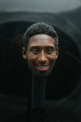 $19.99 • Buy Kobe Bryant Head Sculpt For 1/6 Scale Action Figure Suit For Enterbay Body