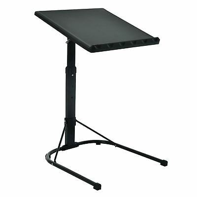 £30 • Buy Black Laptop Table Folding Adjustable Portable Studying Desk Stand Dinner Tray